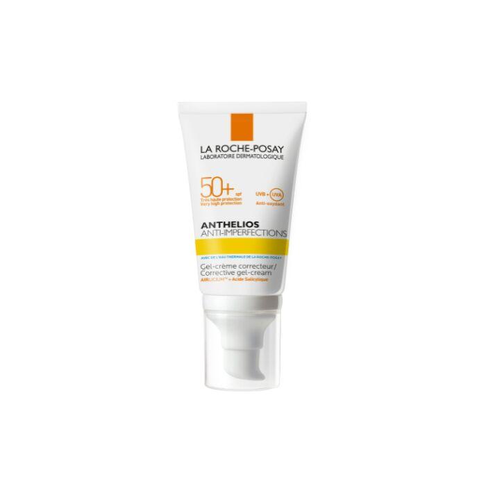 солнцезащитный гель-крем для жирной, проблемной и склонной к акне кожи лица SPF 50+/ PPD 21