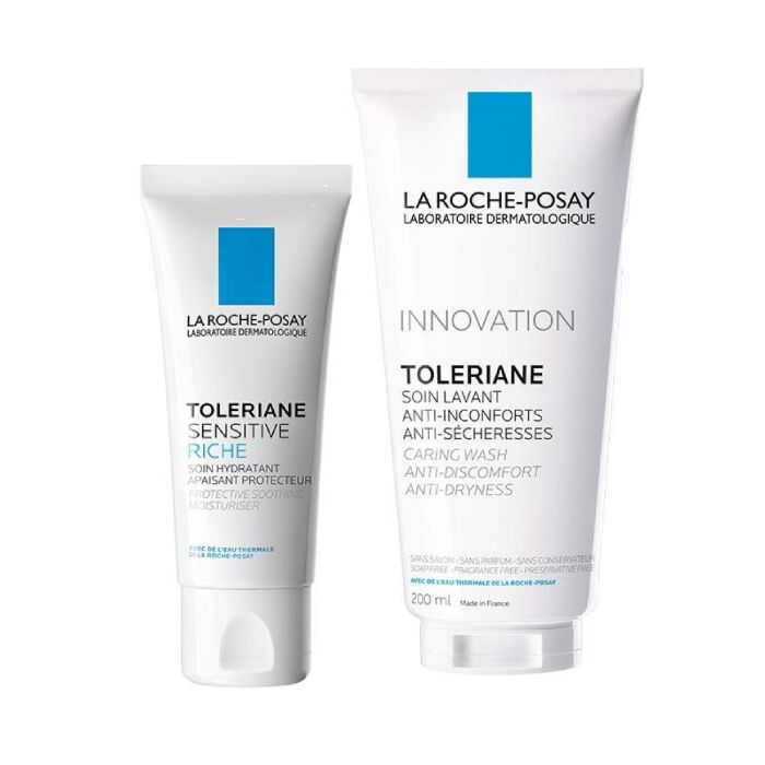 TOLERIANE SENSITIVE RICHE + Toleriane CaringWash 200ml