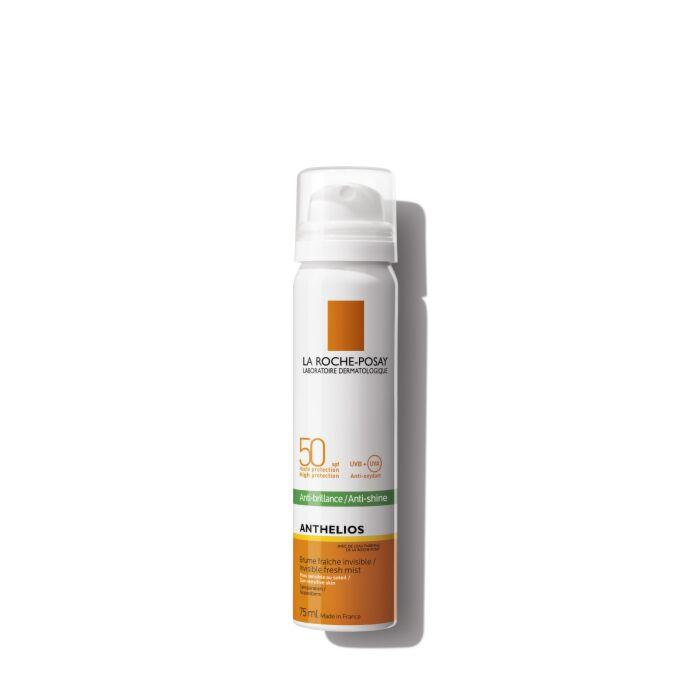 солнцезащитный матирующий спрей-вуаль для лица  SPF 50/PPD 27