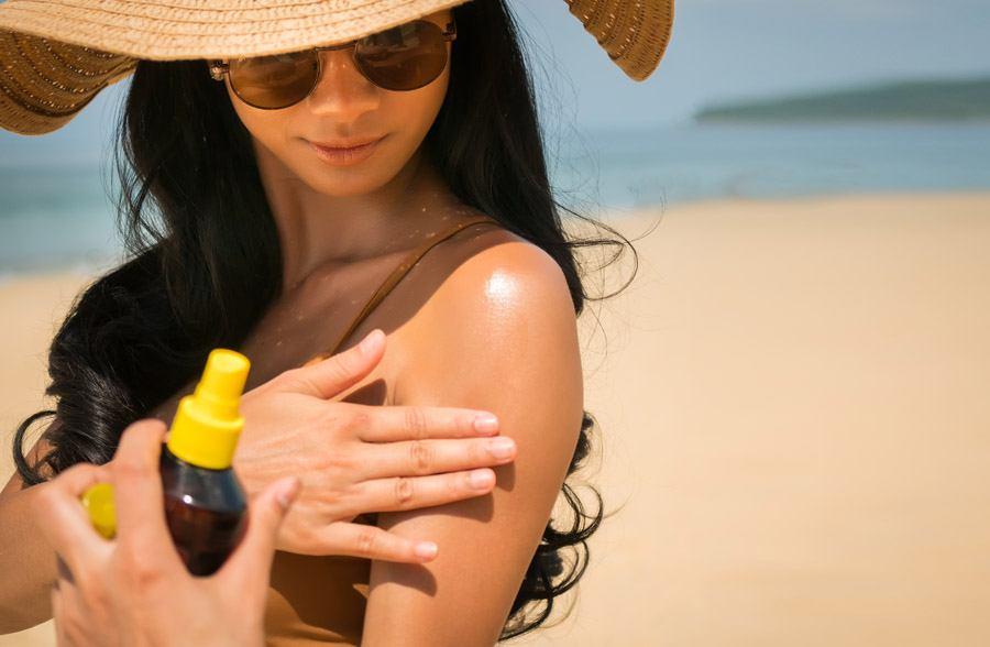 Чем мазать кожу после загара на солнце?